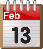 calendar_February_13